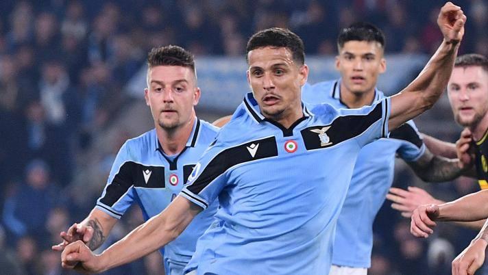 Luiz Felipe, difensore della Lazio. Lapresse