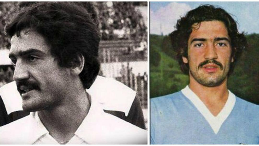 Maurizio Montesi con la maglia della Lazio.