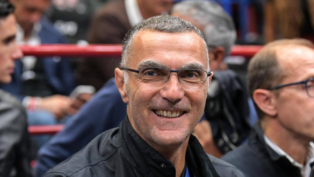 Giuseppe Bergomi, ex capitano e bandiera dell'Inter. Lapresse