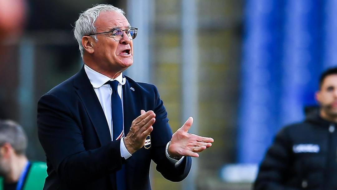 Claudio Ranieri, 68 anni, è l'allenatore più esperto della Serie A: la sua prima squadra è stata la Vigor Lamezia nel 1986. (Ansa)