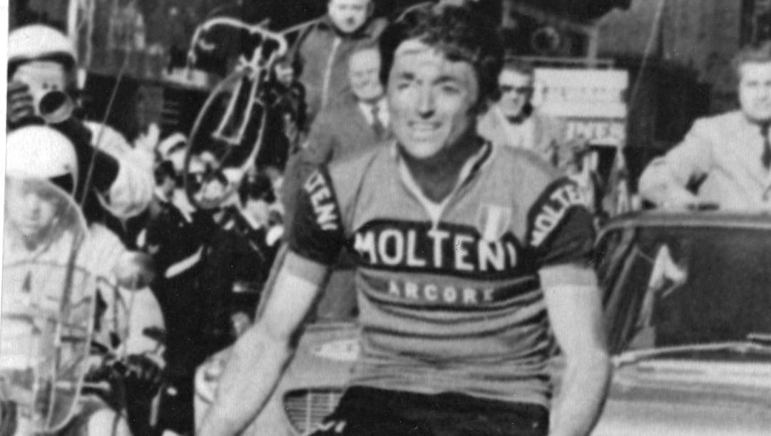Michele Dancelli vince la Milano-Sanremo il 19 marzo 1970, esattamente 50 anni fa