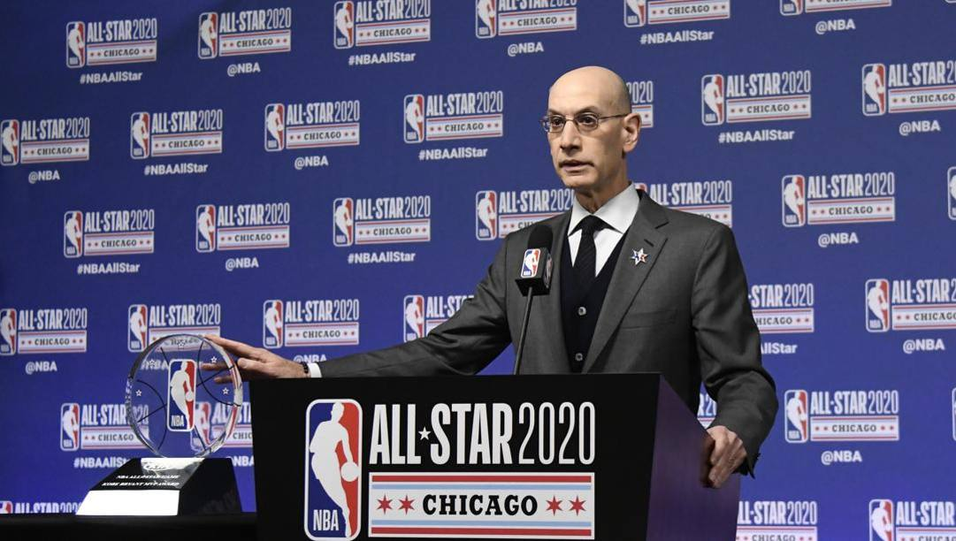 Adam Silver, commissioner Nba dal 2014. Ap