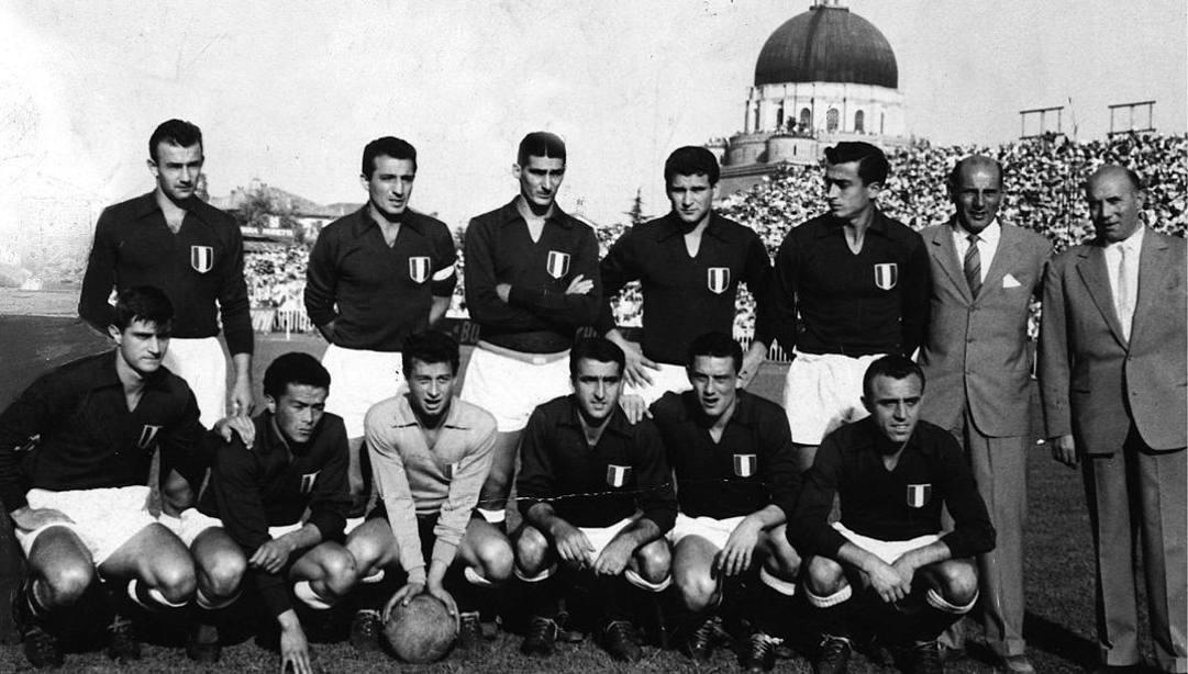 La Fiorentina 1955-1956, campione d'Italia.