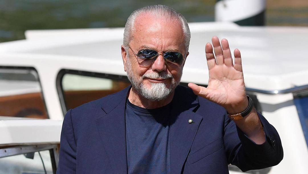 Aurelio De Laurentiis, 70 anni. Ansa