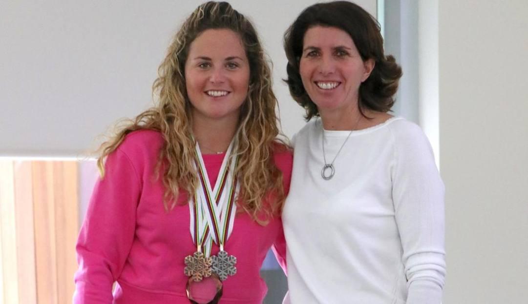 Lucia Bocchi con Michela Moioli