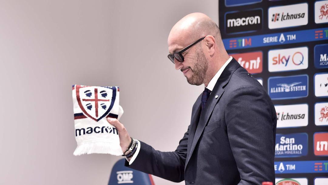 Walter Zenga, 59 anni, allenatore del Cagliari. Lapresse