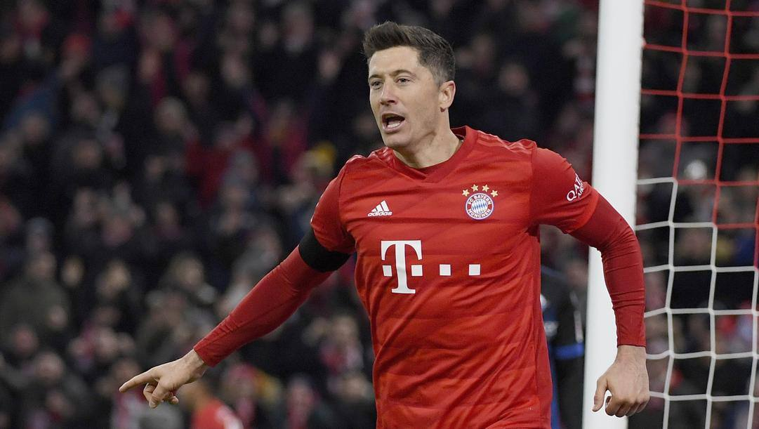 Robert Lewandowski, 31 anni, del Bayern. Ap