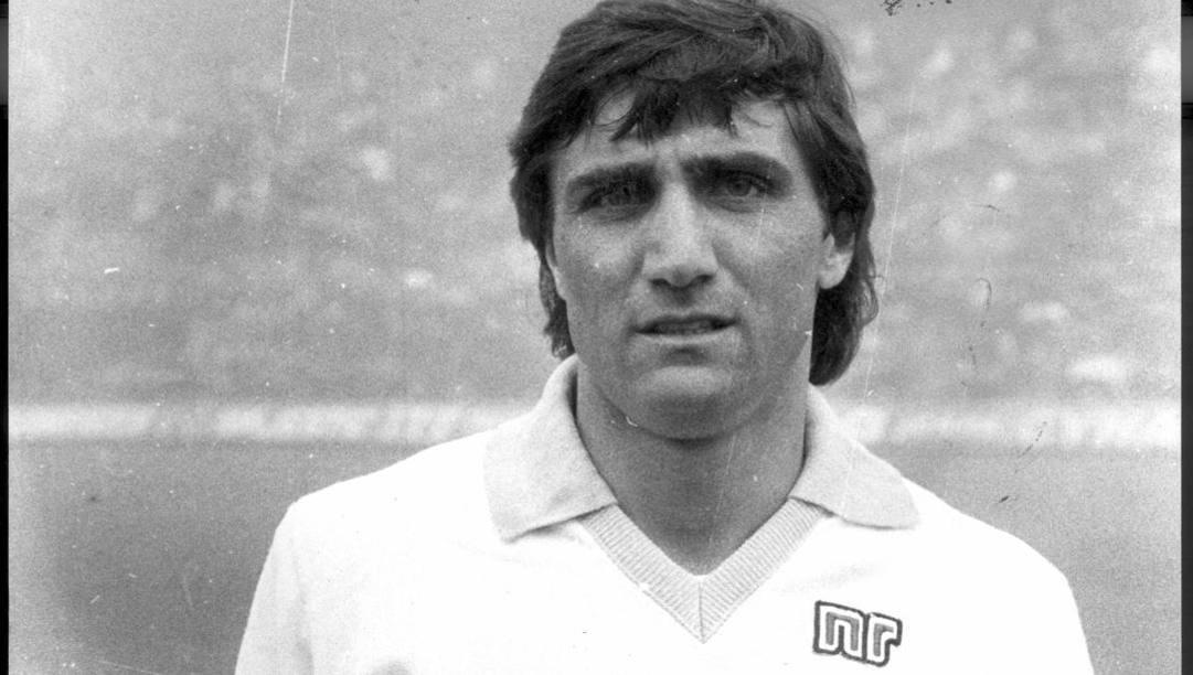 Bruno Giordano, attaccante della Lazio ai tempi del Calcioscommesse. Dfp