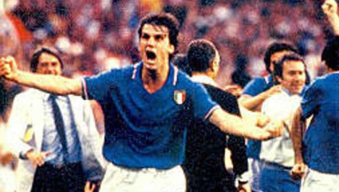 L'urlo di Tardelli a Spagna 1982