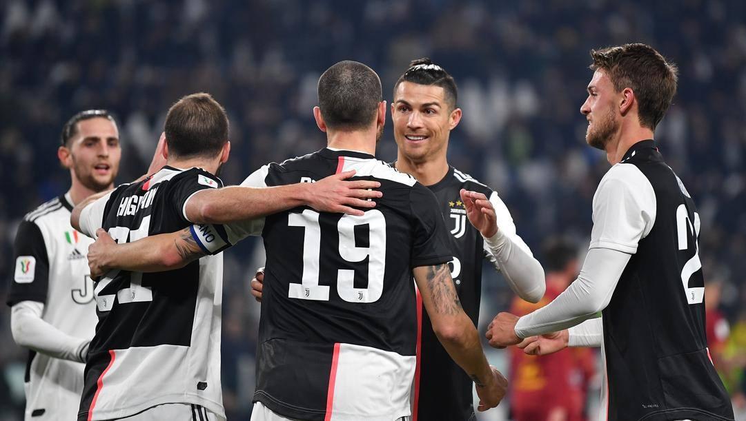 La Juventus è la prima squadra italiana ad accettare la riduzione dello stipendio. Getty