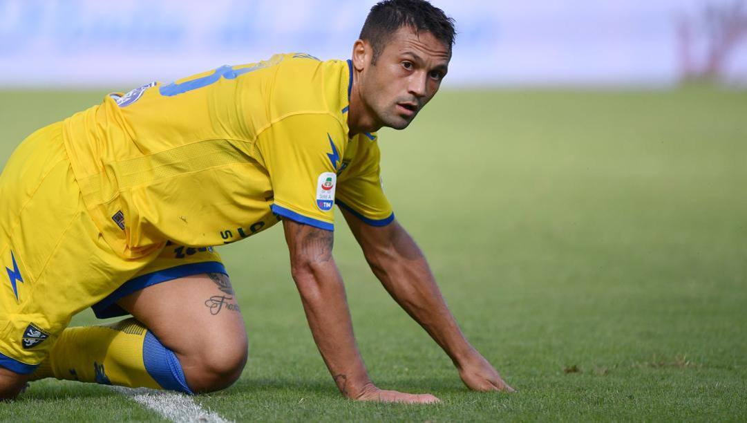 Camillo Ciano è pronto al rientro dopo l'infortunio contro il Perugia. Lapresse