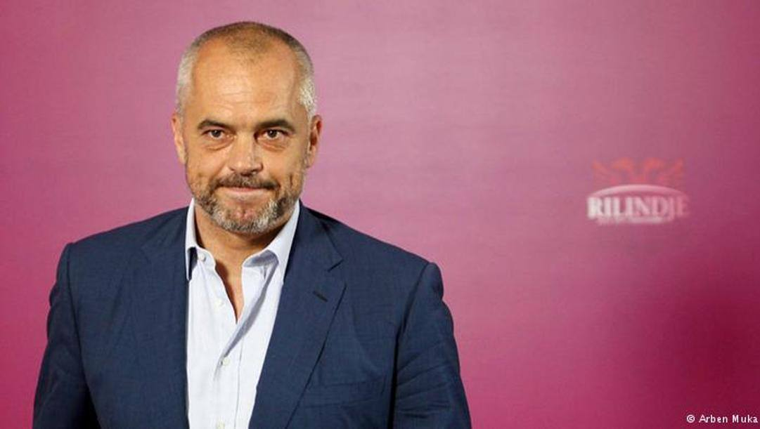 Edi Rama, primo ministro albanese.
