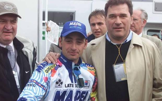 Giancarlo Ceruti con Paolo Bettini