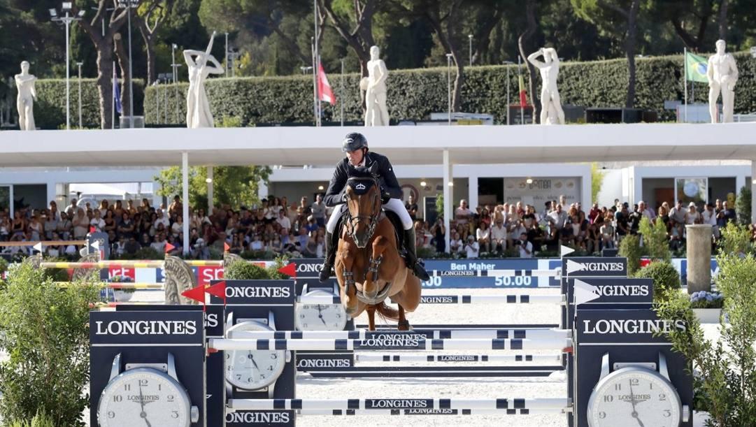 Un'immagine dell'ultima tappa di Roma del Global Champions Tour