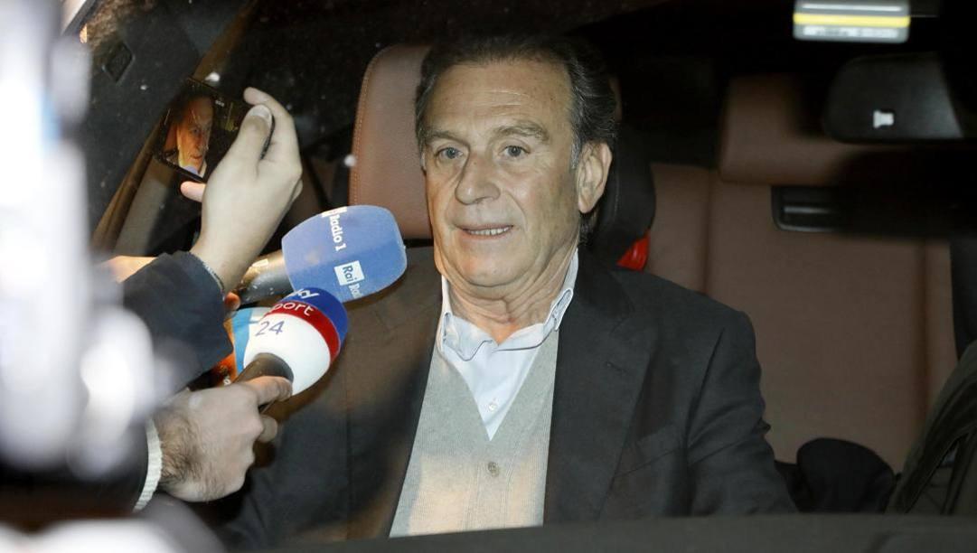 Il presidente del Brescia, Massimo Cellino. Ansa
