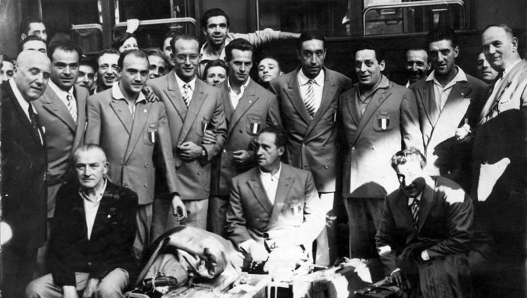 Il Settebello oro ai Giochi di Londra nel 1948