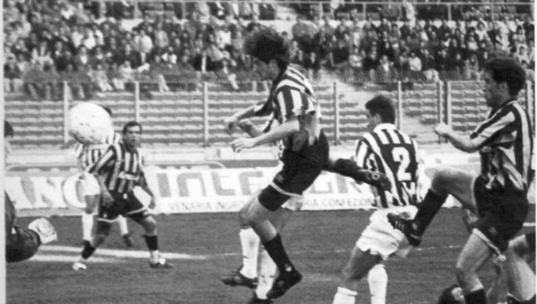2 aprile 1994: l'autogol di Ferri nei minuti finali di Juventus-Inter. Ap