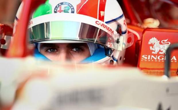 Il 26enne pugliese ha conquistato un 5° posto in Brasile come miglior piazzamento in un GP di F.1. GETTY