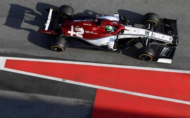 Il 2020 sarà il secondo campionato per Giovinazzi, che nel 2017 ha avuto due esperienze e nel 2018 era terzo pilota Sauber. AFP