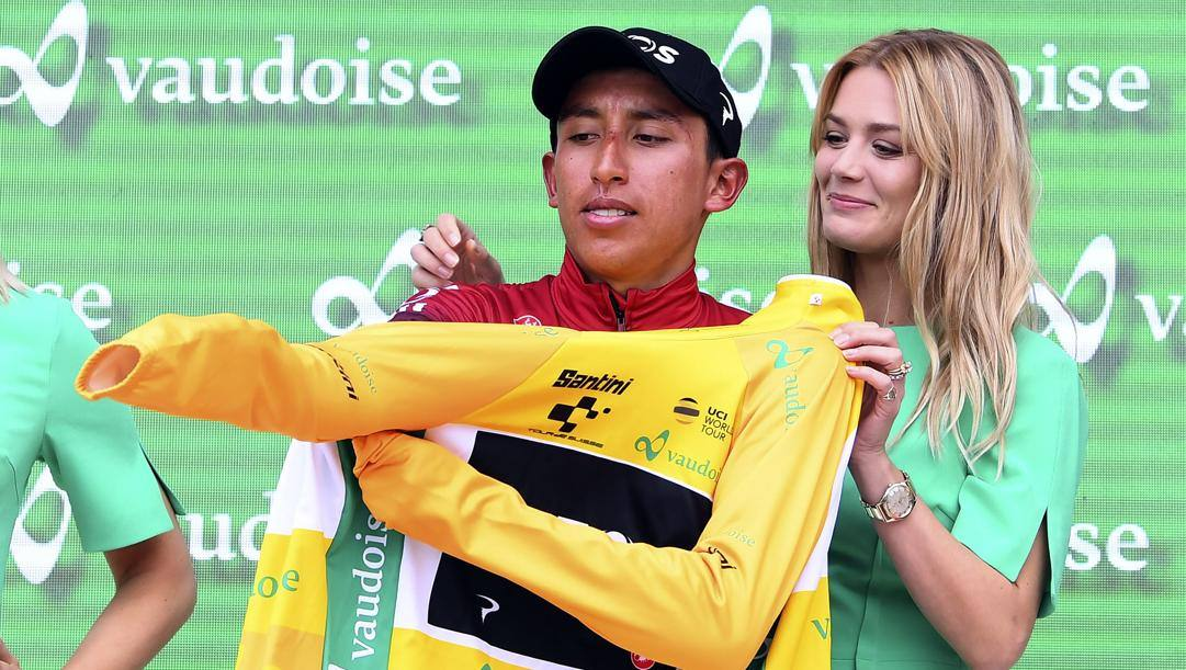 Egan Bernal, 23 anni. BETTINI
