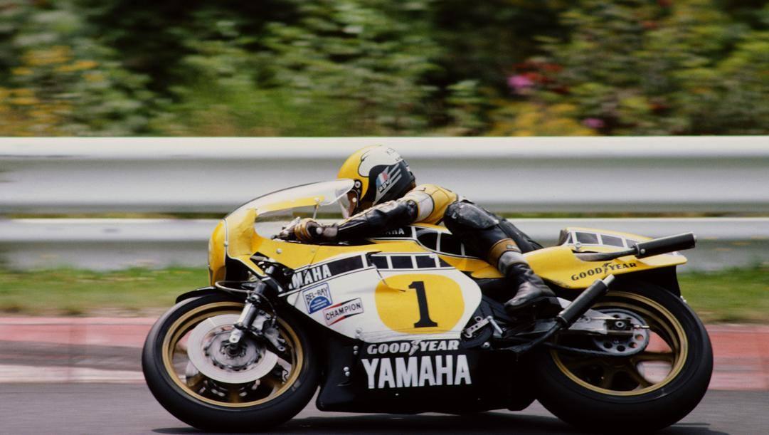 Roberts su Yamaha campione del mondo nel 1980