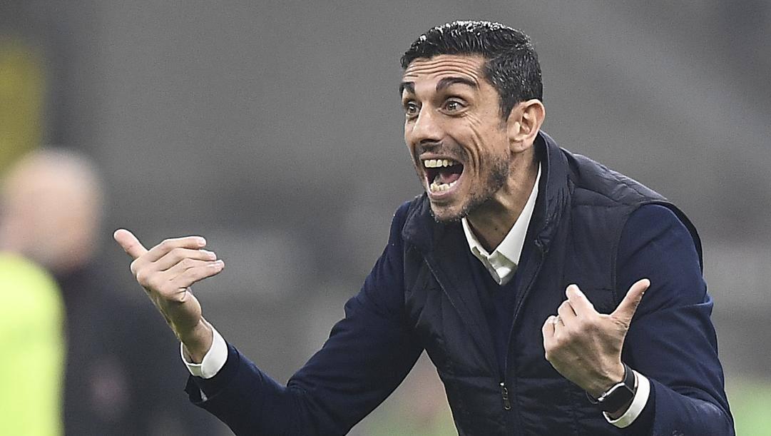 Moreno Longo è allenatore del Torino da febbraio. Lapresse