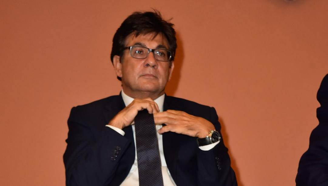 Luca Pancalli, presidente del Comitato Paralimpico Italiano. Lapresse