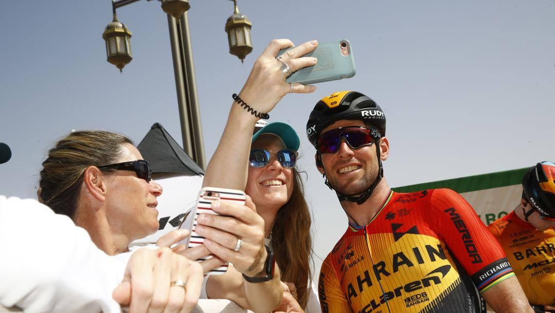 Mark Cavendish, 34, all'Uae Tour di fine febbraio. Bettini