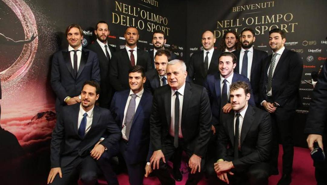 Il Settebello ai Gazzetta Awards. Ipp