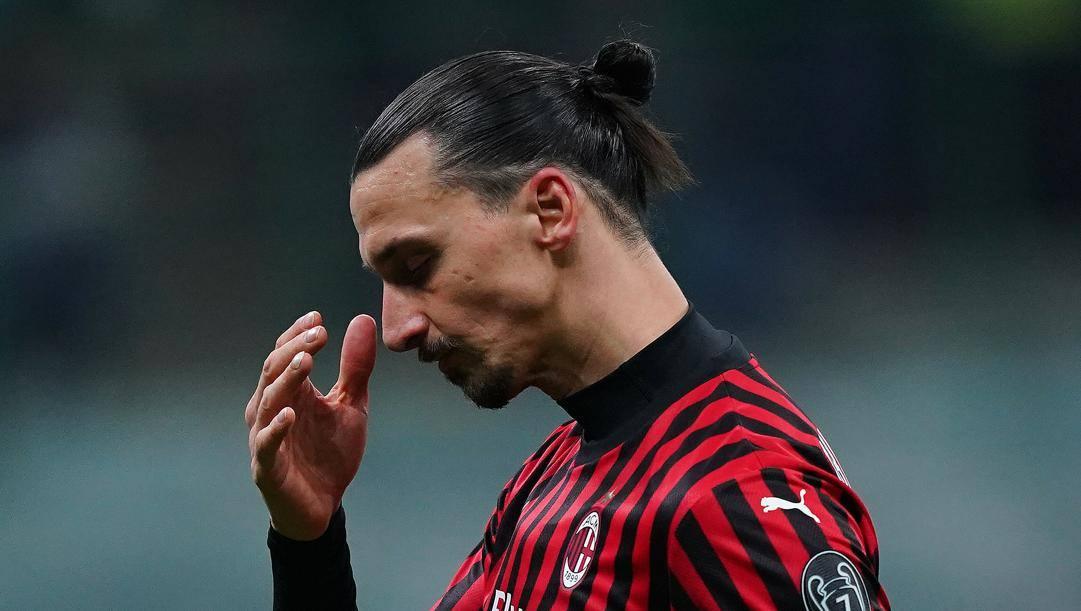 Zlatan Ibrahimovic, 38 anni. LaPresse