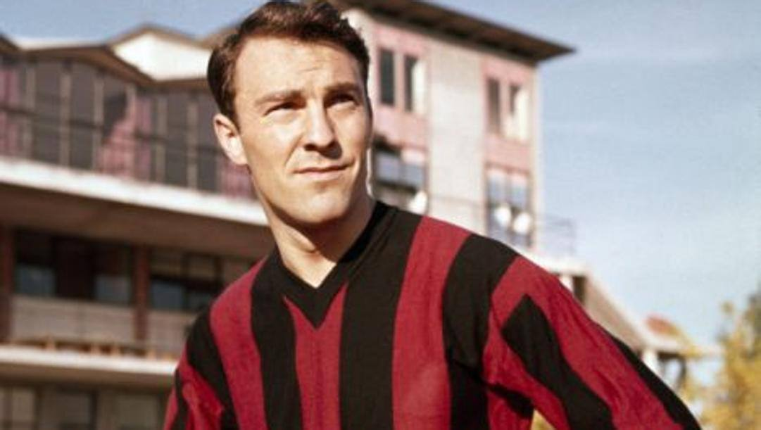 Jimmy Greaves in maglia Milan