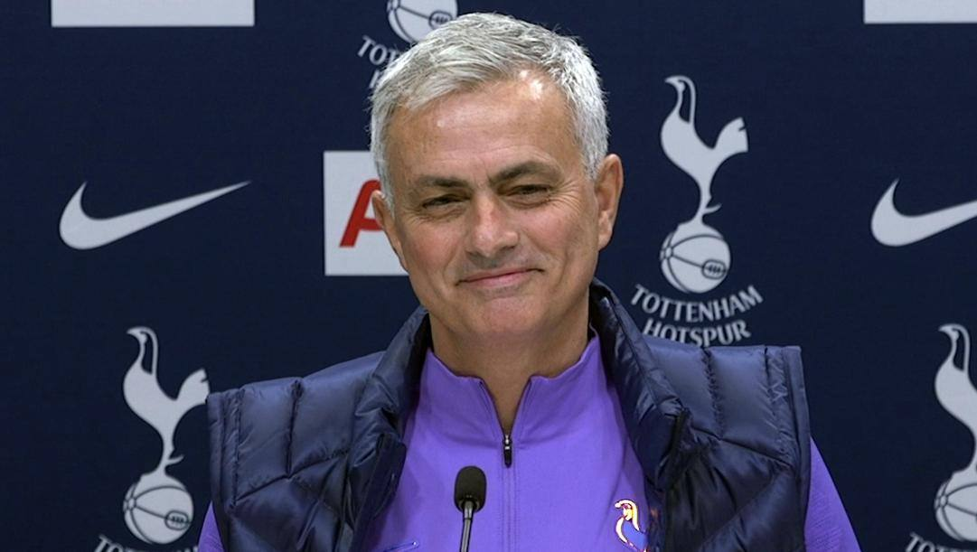 Il tecnico del Tottenham Josè Mourinho. Ap