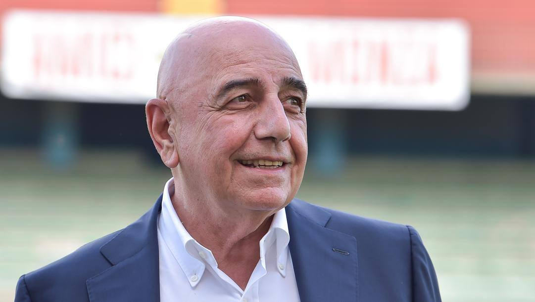 Adriano Galliani, dirigente del Monza dal 2018. Lapresse