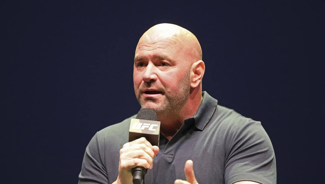 Il presidente dell'UFC, Dana White. Ap