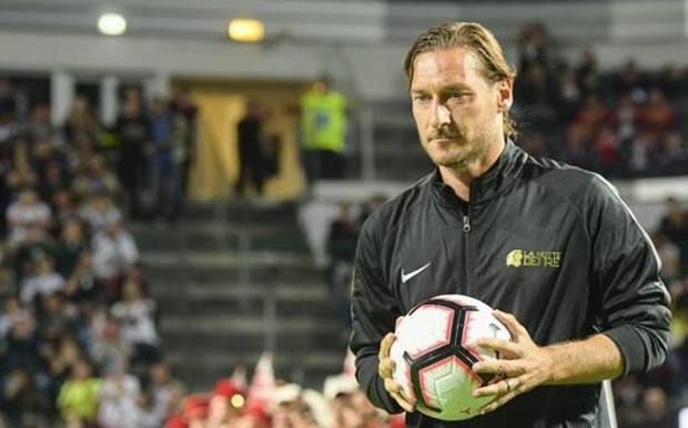 Francesco Totti, 43 anni. LaPresse