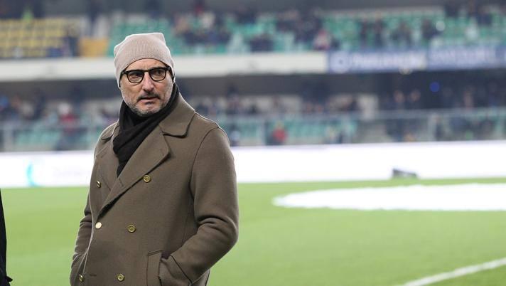 Maurizio Setti, presidente del Verona. LaPresse