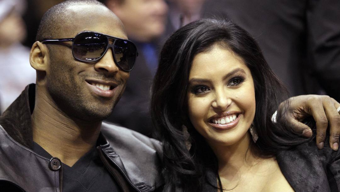 Kobe e Vanessa Bryant. Ap