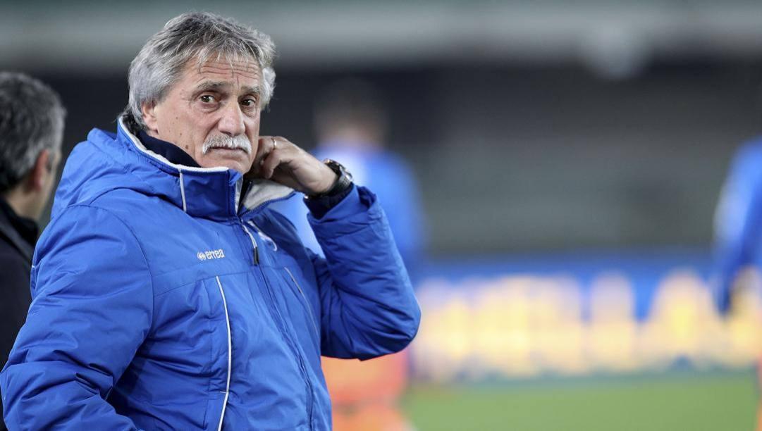 Giuseppe Pillon ha lasciato il Cosenza a metà marzo per tornare in Veneto dalla sua famiglia. Italy Photo Press