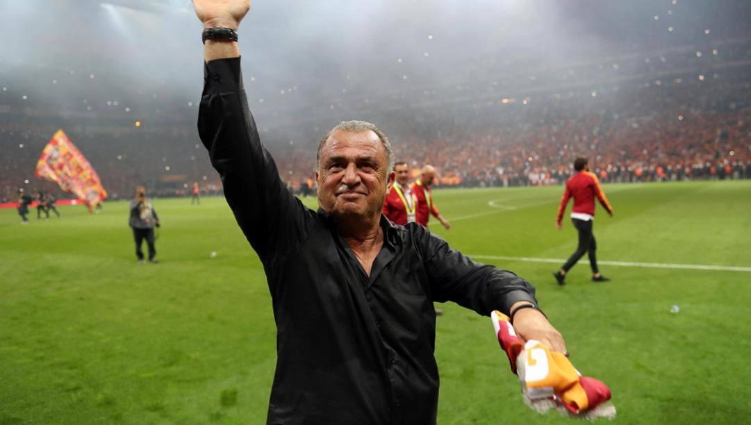 Fatih Terim, leggenda vivente del calcio turco. Epa