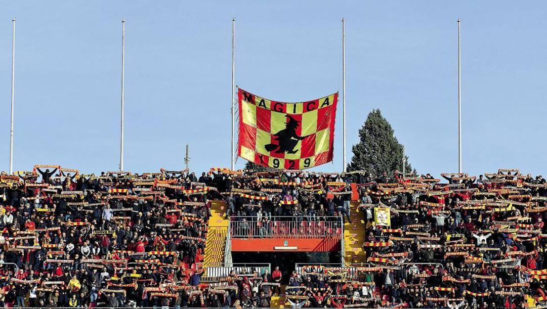 I tifosi del Benevento capolista