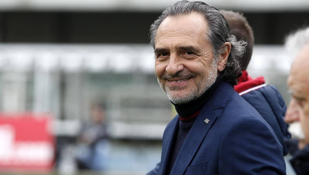 Cesare Prandelli ha giocato con le maglie di Juventus e Atalanta. Lapresse