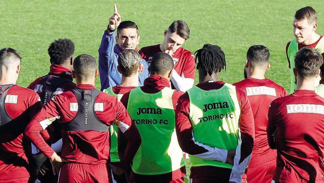 Moreno Longo, 44 anni, con la squadra. Ramella