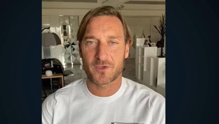 Francesco Totti, 43 anni. Ansa