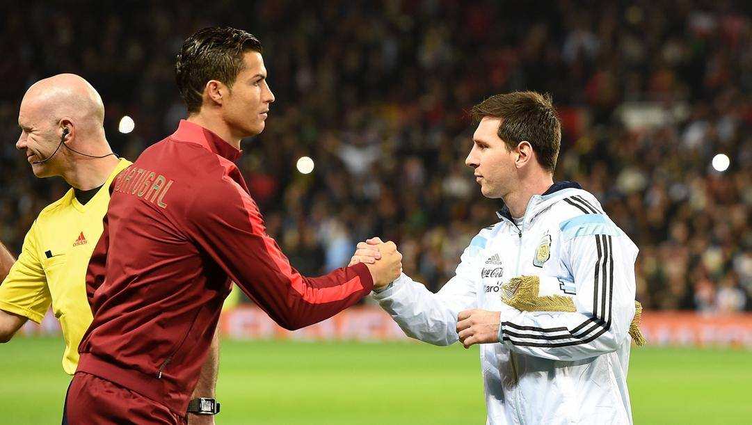 Ronaldo vs Messi: aspettando la Champions, i due possono incontrarsi solo in Nazionale. Lapresse