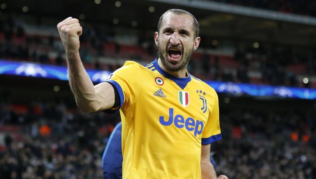 Giorgio Chiellini, 36 anni.