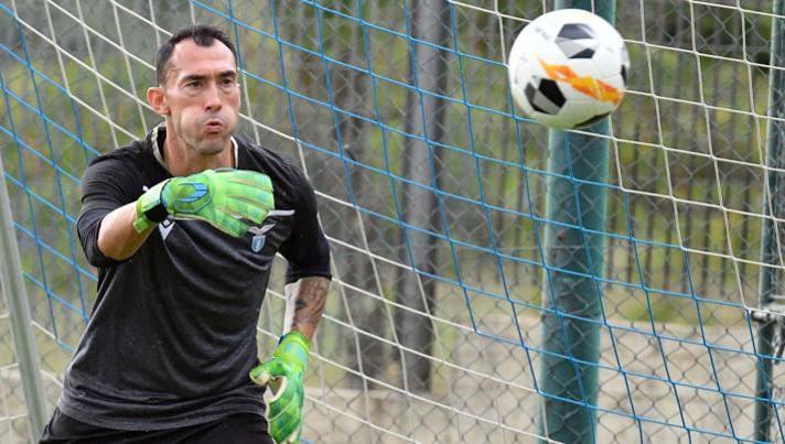 Silvio Proto, portiere belga della Lazio. Getty