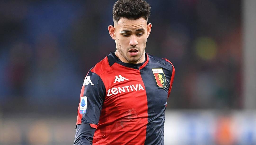 Toni Sanabria, rinato nel 2020 con l'arrivo di Davide Nicola al Genoa. Lapresse