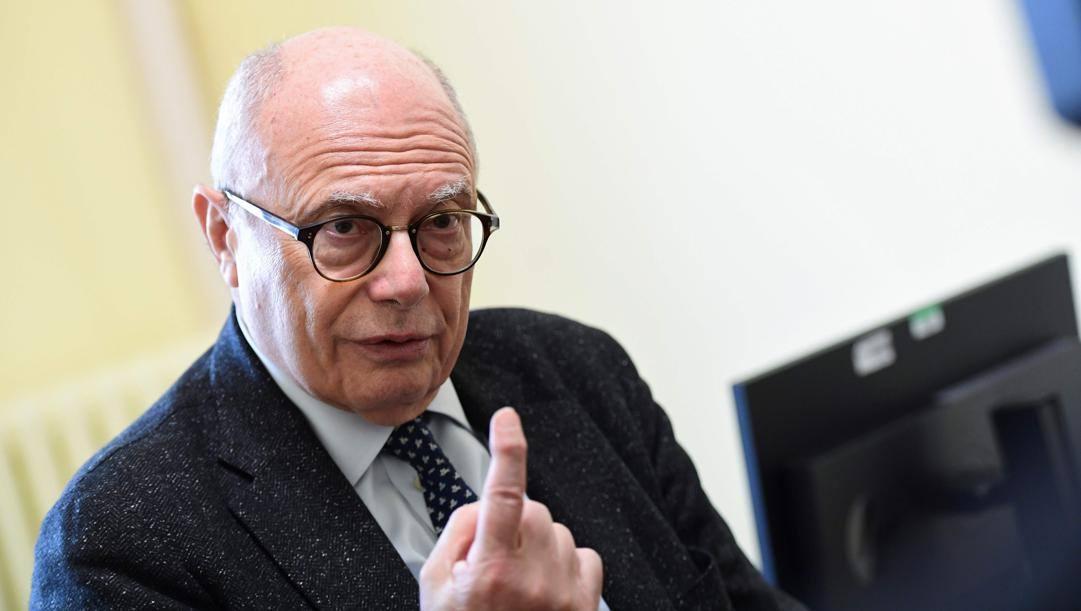 Massimo Galli, 68 anni. Afp
