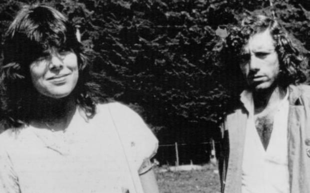 Guilermo Vilas con Carolina di Monaco nel 1982 ANSA