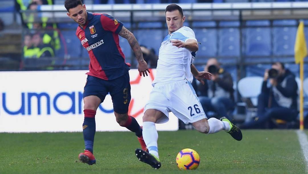 Stefan Radu, 33 anni, difensore della Lazio. Lapresse